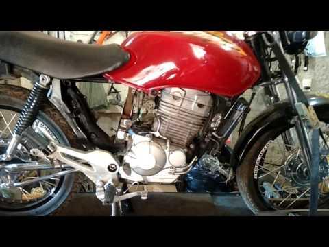 Adaptando motor de CB 300 em Titan 125