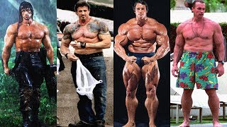 Arnold Schwarzenegger Vs Sylvester Stallone Transformation ★ 2018 streaming