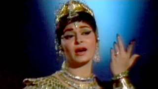Jungle Mein More Naache - Lata Mangeshkar, Waheeda, Shatranj Song