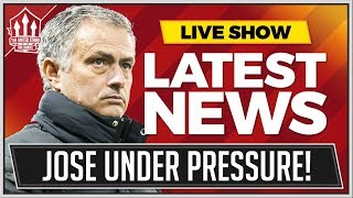 MOURINHO Future Concerns Grow! Man Utd News