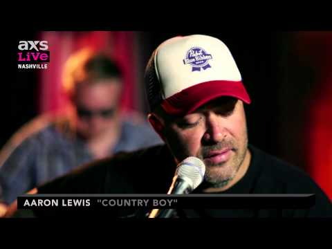 "Aaron Lewis Performs ""Country Boy"" on AXS Live"