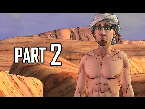 Tales From The Borderlands Walkthrough Part 2 -  Yolked Vaughn (PS4 Gameplay Commentary)