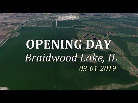 Braidwood Lake IL - Opening Day Fishing (03.01.2019)