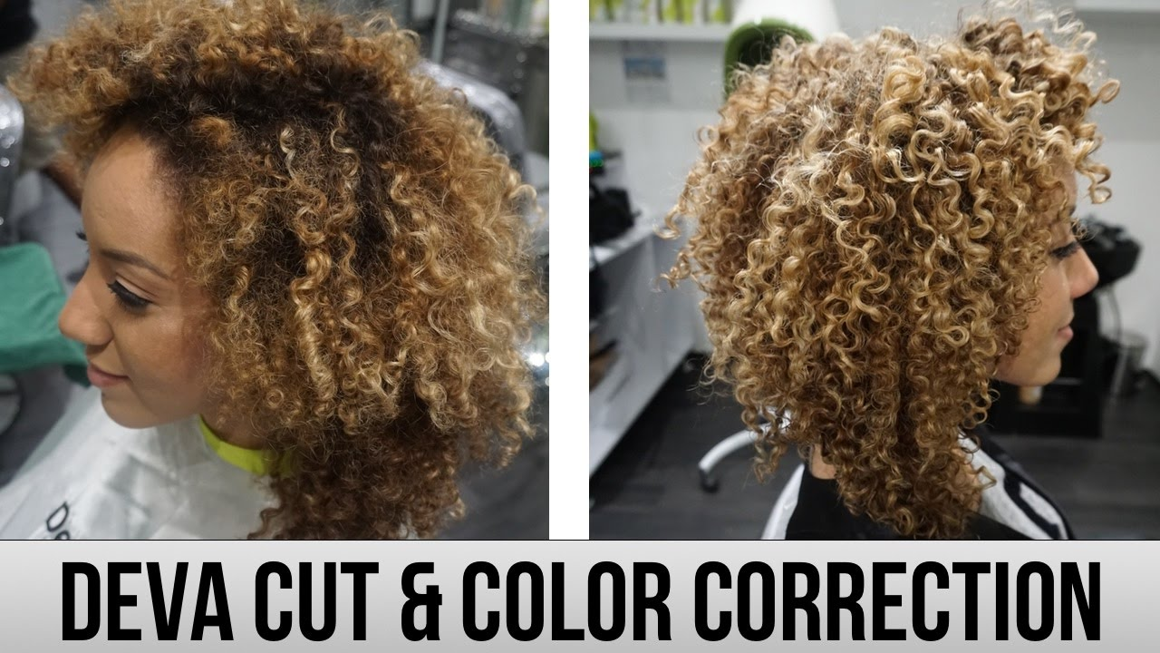 Deva Cut Color Correction Going Blonde Curls One On One Hair