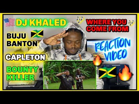 DJ Khaled – WHERE YOU COME FROM ft. Buju Banton, Capleton, Bounty Killer | REACTION VIDEO @Task_Tv