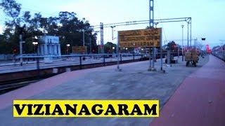 WDM2 Chennai Asansol Departs Vizianagaram Dawn