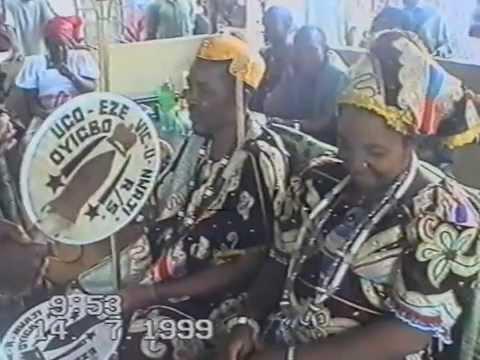 CORONATION OF EZEOHA OYIGBO BY THE PEOPLE OF OYIGBO URBAN AREA ON JULY 14 1999