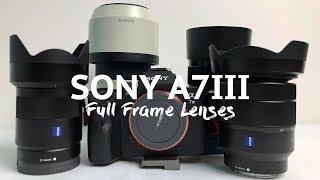 Sony A7iii - Best Full Frame lenses to buy
