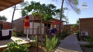 Camping Les Sablons 5 étoiles à Portiragnes Plage Sud de France : Espace, sérénité, sécurité !