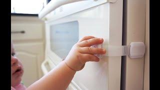 Adjustable Strap Safety Locks Installation - Secure Home By Jessa Leona
