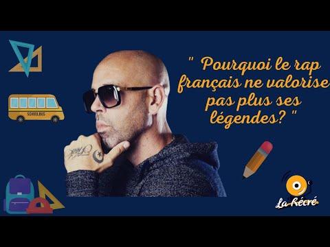 Youtube: Pourquoi le rap français ne valorise pas/plus ses légendes? – La Récré feat Sinik