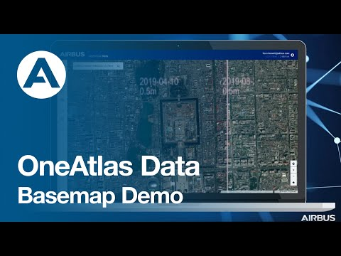 OneAtlas Data: Basemap Demo
