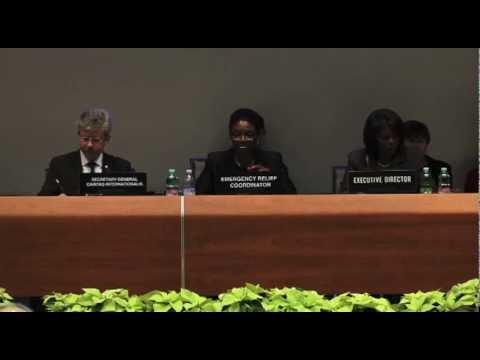 Global Humanitarian Appeal Launch 2013