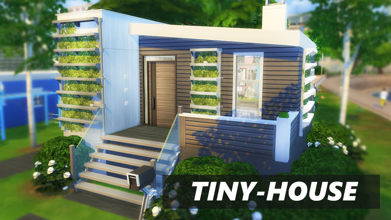 The sims 4 TINY HOUSE BUILD 2xbedrooms YouTube