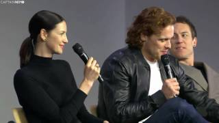 Meet The Cast Outlander (Refinery 29 at Apple Store) [RUS SUB]