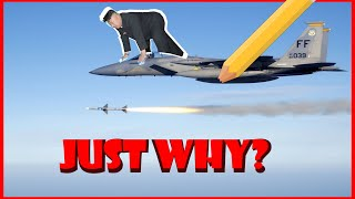"""Drawing """"FF 039 jet with missile"""" 