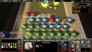 Warcraft 3 TFT - Line Tower Wars #1