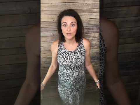 0ce49999b4010 Ways to shorten the LuLaRoe Dani without hemming! - YouTube