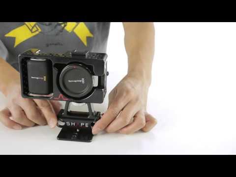 SHAPE Cage for Blackmagic Pocket Camera (BMPOCAGE)