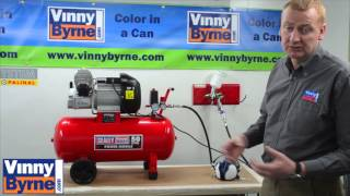 how to set up an air compressor kit