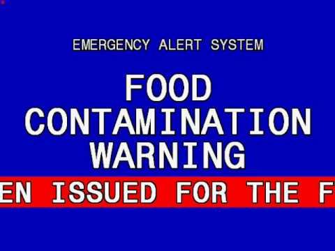 EAS: Food Contamination Warning (FCW) for Iowa