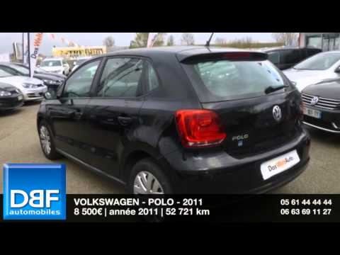 annonce occasion volkswagen polo 1 2 60 trendline 5p 2011. Black Bedroom Furniture Sets. Home Design Ideas