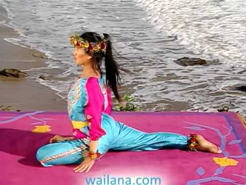 yoga asana  pigeon stretchwai lana  youtube