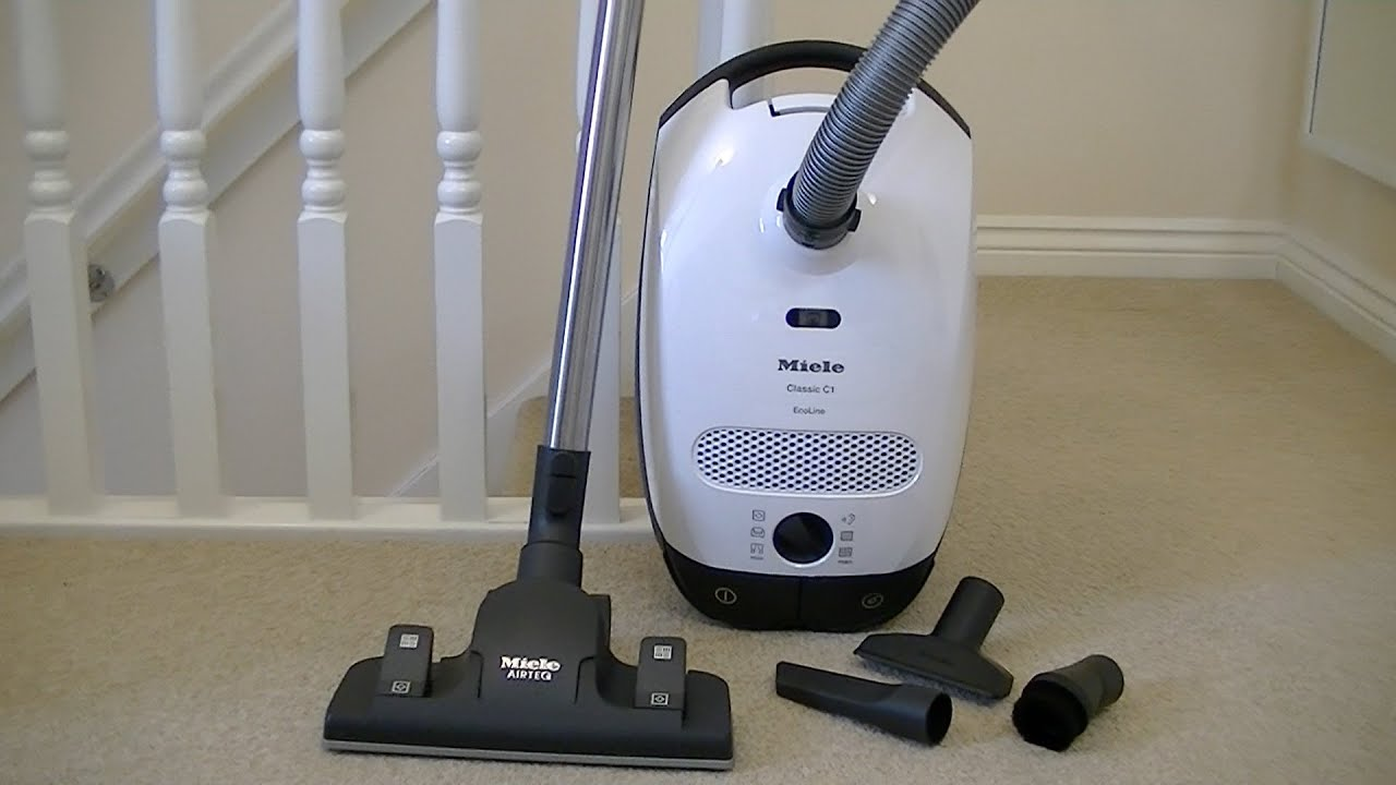 Ongebruikt Miele Classic C1 Ecoline Cylinder Vacuum Cleaner Unboxing & First CG-98