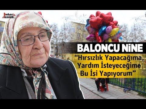 73 yaşındaki Baloncu Nine, balon satarak evini geçindiriyor - Denizli Haberleri - HABERDENİZLİ.COM