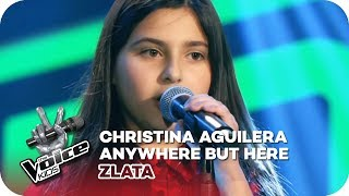 Christina Aguilera - Anywhere But Here (Zlata) | Blind Auditions | The Voice Kids 2018 | SAT.1