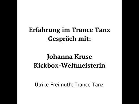 Erfahrung im Trance Tanz: Kickboxweltmeisterin Johanna Kruse im Gespräch