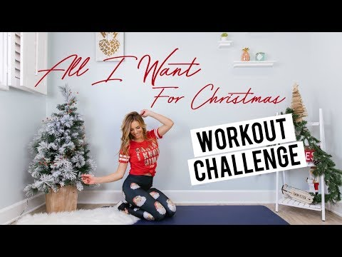 All I Want for Christmas Workout Challenge | Mariah Carey!