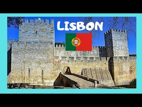 The historic Castle of São Jorge, Lisbon (Portugal)