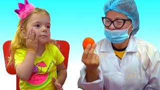Anabella la doctor | Video educativ pentru copii | Sketch