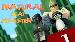 Jailbreak Natural Disaster Survival Dance Parody - Funny Roblox Animation