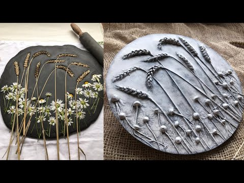 Fields Of Gold / Home Art Decor Tutorial/ Diy Wall Decor By KLEVER