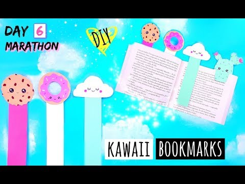 DIY KAWAII BOOKMARK - How To Make DIY Crafts With Paper Easy