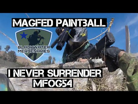 MFOG54 I Never Surrender!! Jungle Island (Tiberius T15) Magfed Paintball