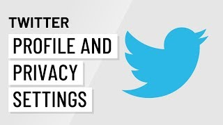 Customize Your Twitter Profile and Privacy Settings