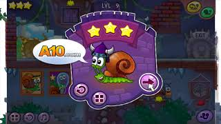 Snail Bob 7 - MEET DRACULA SNAIL FANTASY STORY WALKTHROUGH STAR