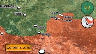 10 октября 2016. Военная обстановка в Сирии. Русский перевод.