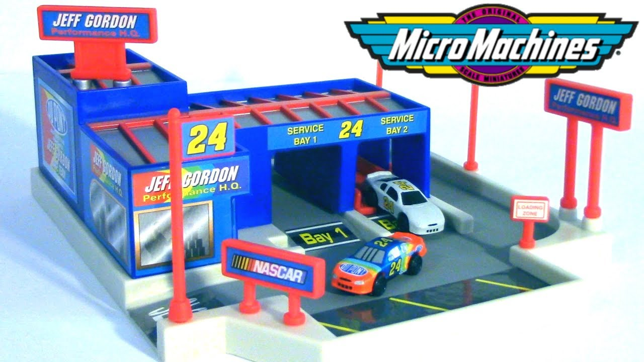 Jeff Gordon Performance Headquarters -- NASCAR Micro ...