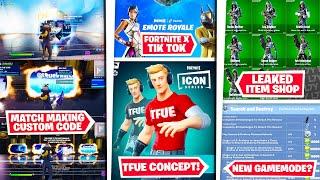 *NEW* Fortnite x Tiktok *#EmoteRoyaleContest* Tfue Icon Skin Concept, Leaked Itemshop, & Matchmaking