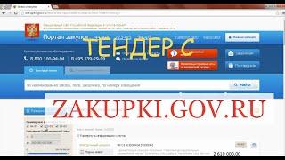 О том, как я делал бизнес. (25) Разберем тендер с zakupki.gov.ru(, 2015-01-26T21:56:44.000Z)