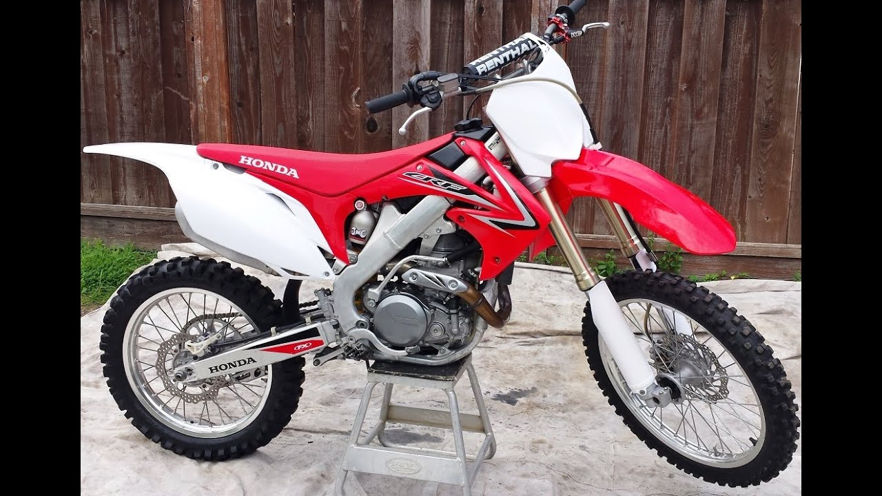 2009 Honda CRF450R For Sale Immaculate - YouTube