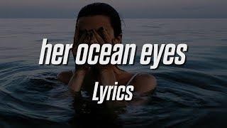 Powfu - her ocean eyes (Lyrics / Lyric Video)