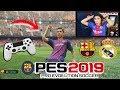 Duelo ÉPICO!!! BARCELONA vs REAL MADRID con CASTIGO | PES 2019