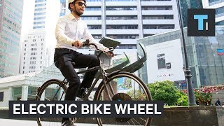 This device gives any bike an electric motor