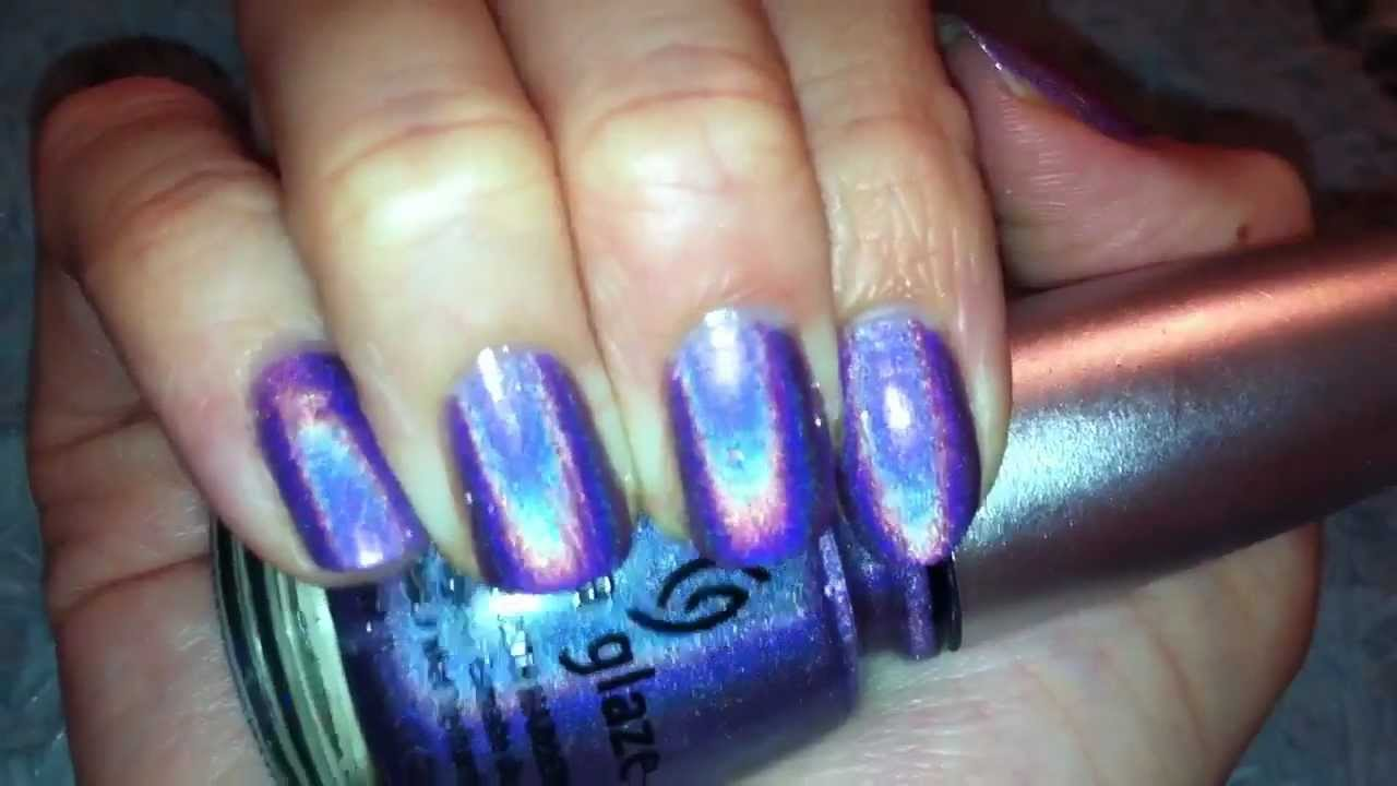 China Glaze Idk From The Holographic Collection