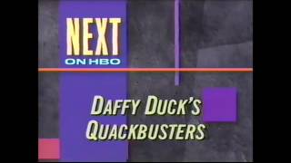 Video Opening and Closing to Daffy Duck's Quackbusters HBO download MP3, 3GP, MP4, WEBM, AVI, FLV September 2017